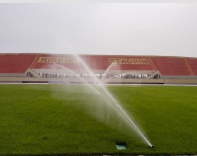 ملعب جديد يقترب من الانجاز في العراق