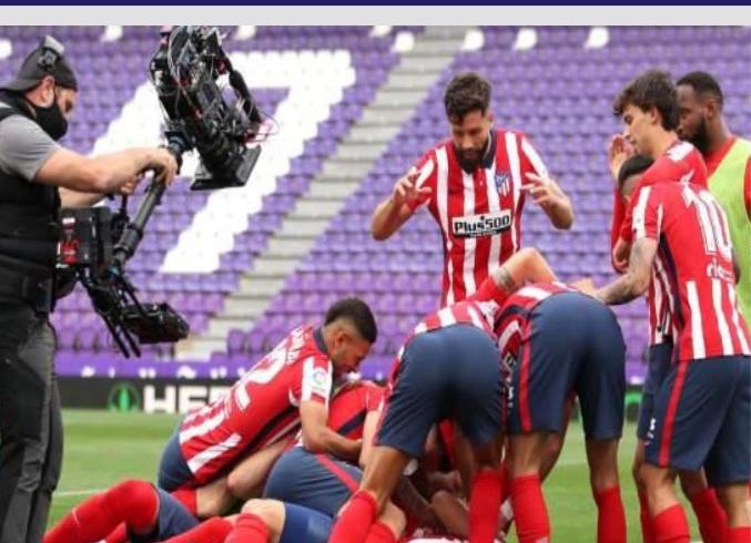 اتلتيكو مدريد يتوج بكاس الدوري الاسباني للمرة الحادية عشر