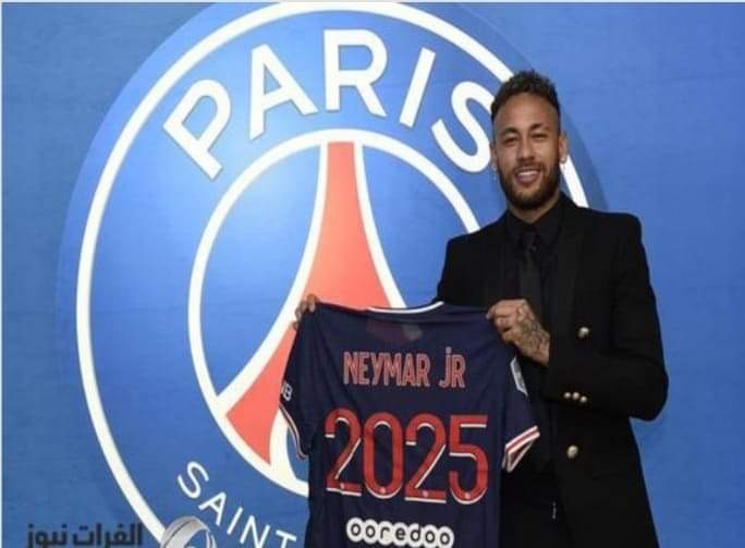 نيمار يجدد عقده مع باريس سان جيرمان